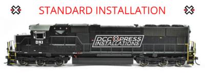 Standard Diesel Installation