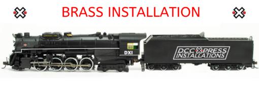 Standard DXI Brass Installation